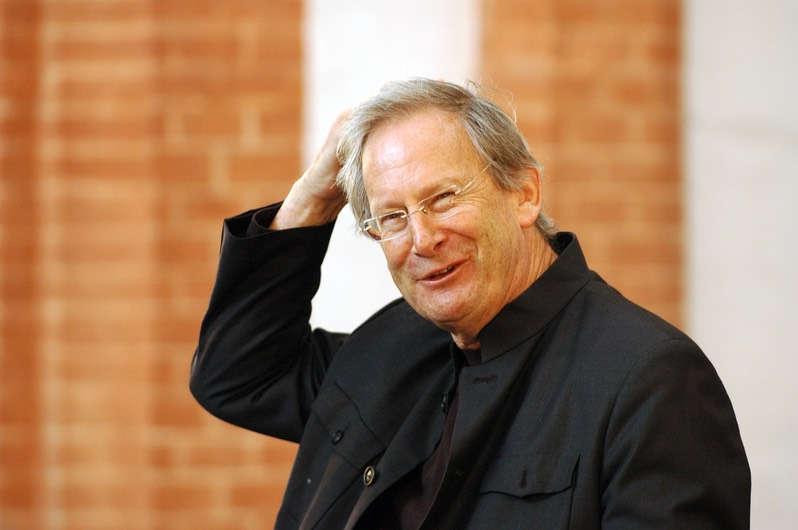 John Eliot Gardiner at rehearsal in Wroclaw, PL
